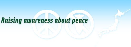 Raising awareness about peace